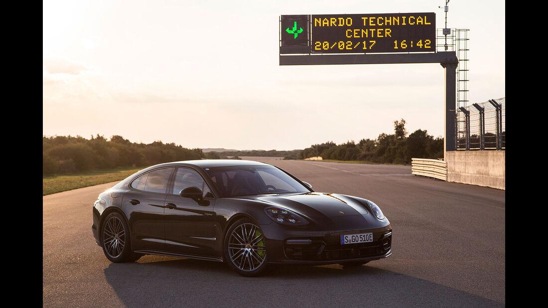 Porsche Panamera Turbo S E-Hybrid Mitfahrt