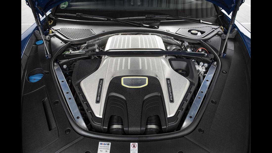Porsche Panamera Turbo S E-Hybrid, Motor