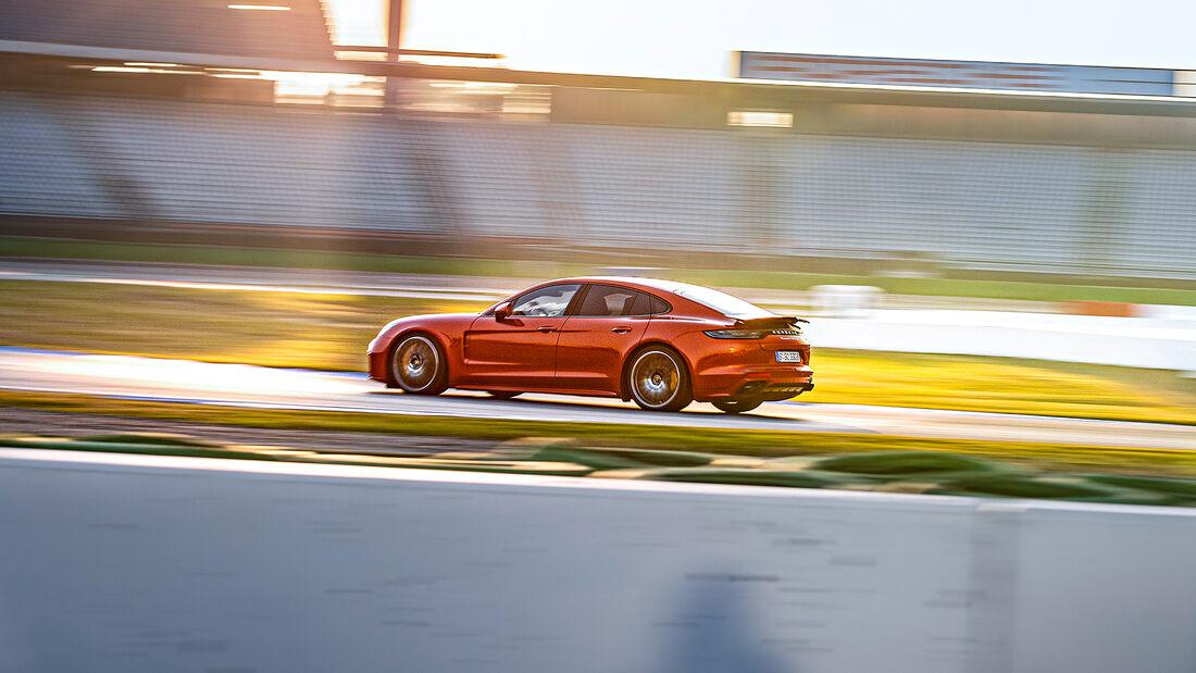 Porsche Panamera Turbo S, Exterieur