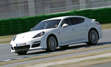 Porsche Panamera Turbo S, Seitenansicht