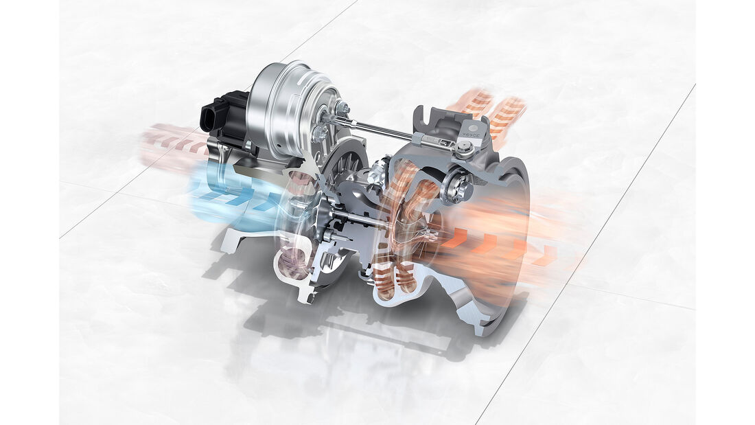 Porsche Panamera Turbo: Twin-Scroll-Turbolader