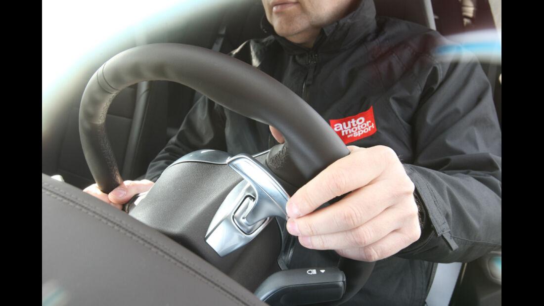 Porsche Panamera Turbo, Wippschalter