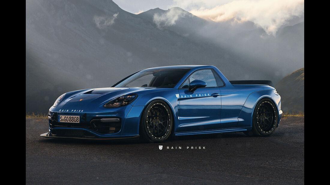 Porsche Panamera Ute - Design-Konzept - Grafikkünstler Rain Prisk