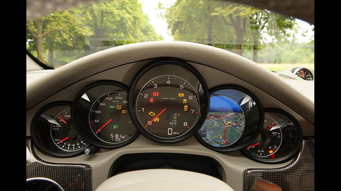 Porsche Panamera V6, Innenraum