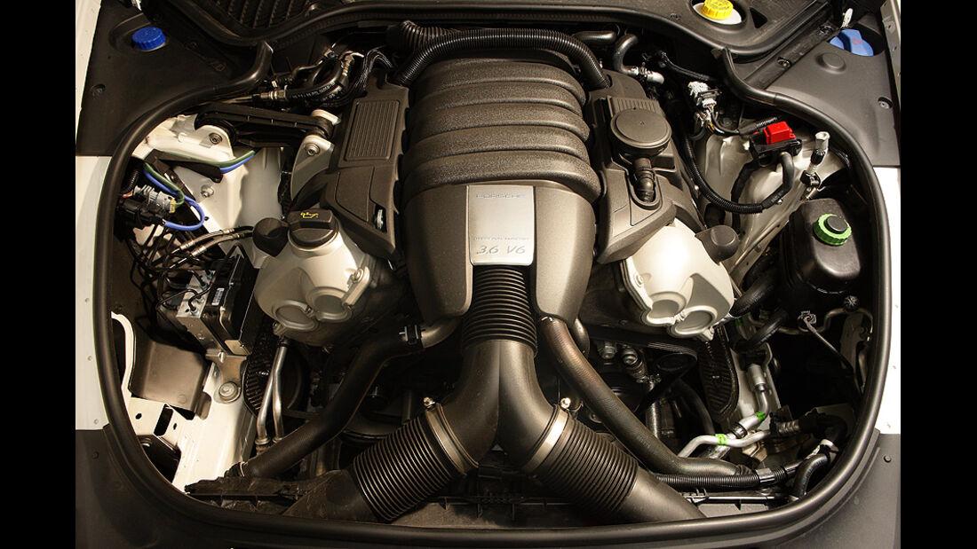 Porsche Panamera V6, Motor