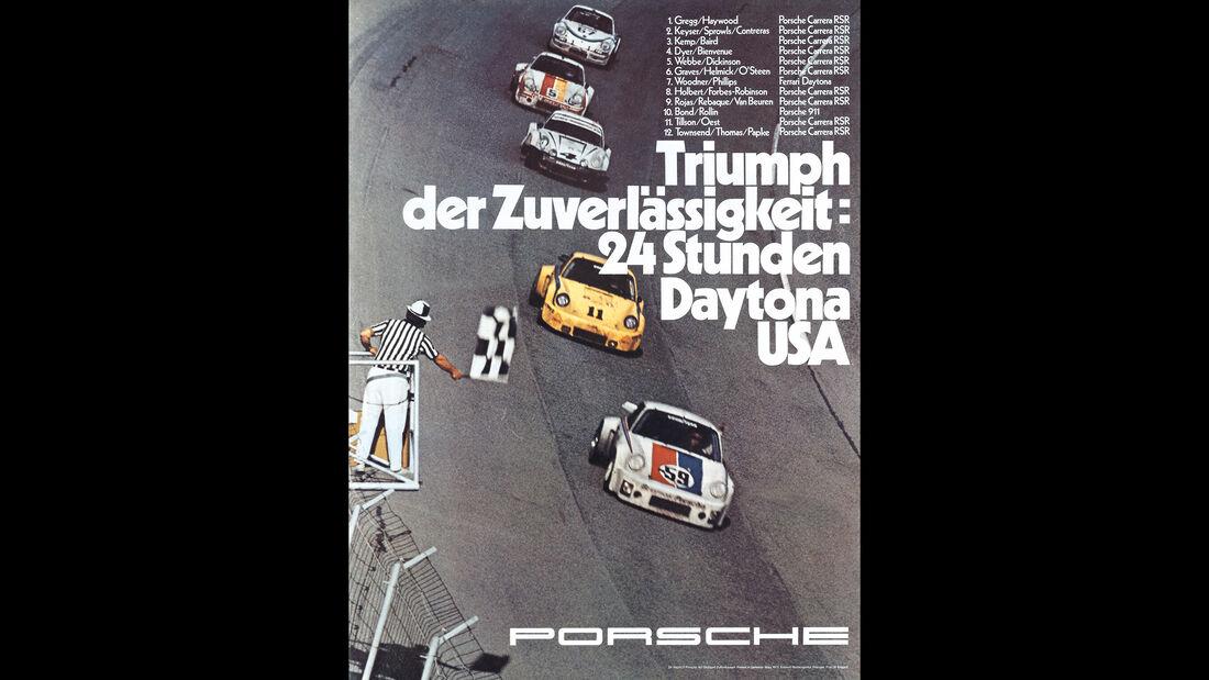 Porsche Poster - 24h Daytona 1975