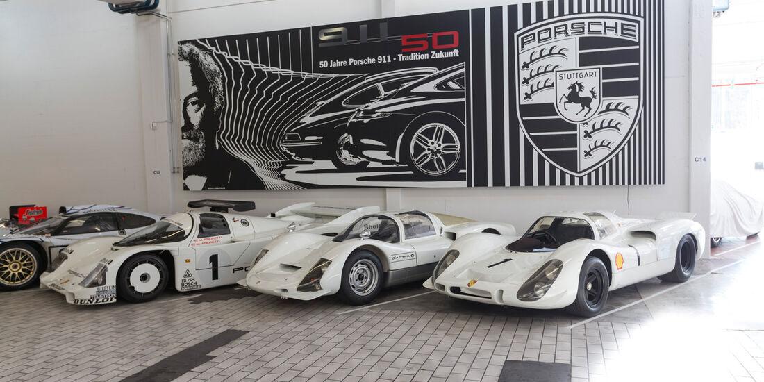 Porsche-Prototypen, Rennwagen