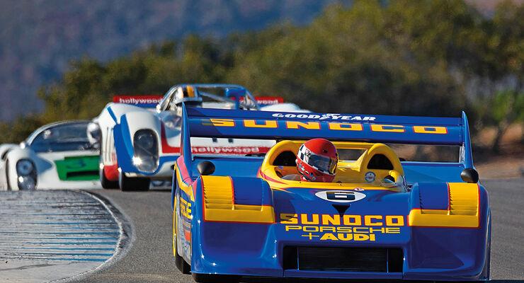 Porsche Rennsport Reunion, Rennszene