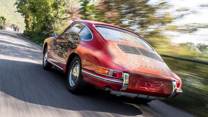 Porsche Restauration Teaser