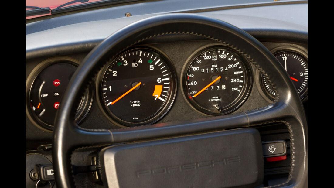 Porsche Speedster Armaturenbrett