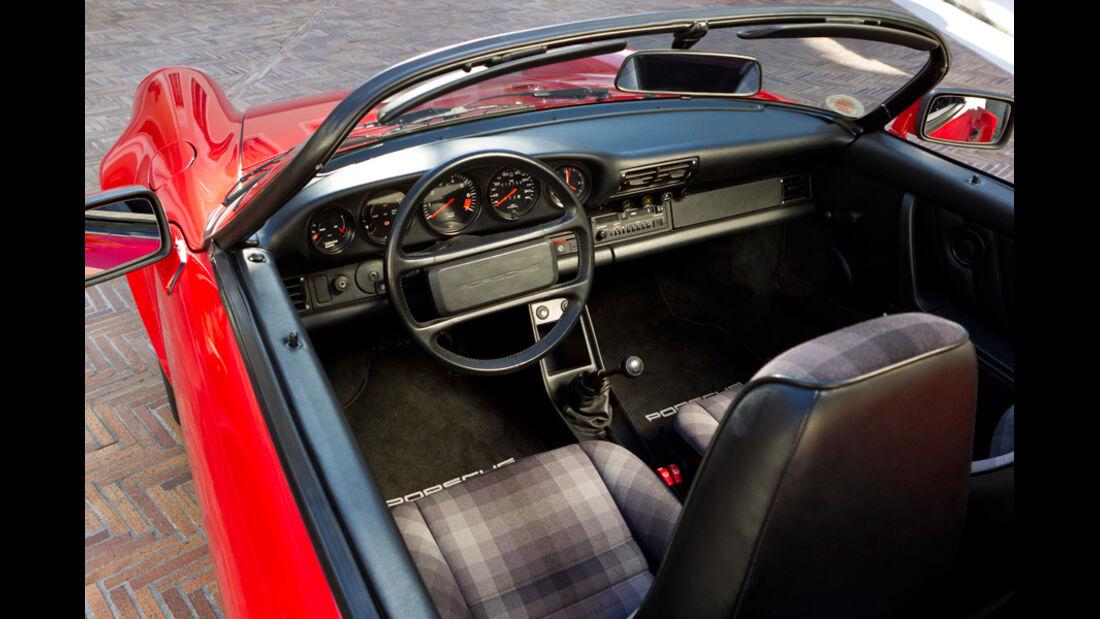 Porsche Speedster Innenraum