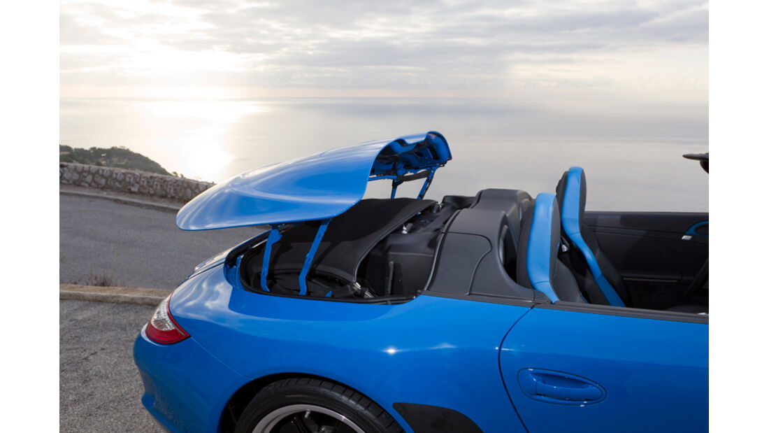 Porsche Speedster Verdecköffnung