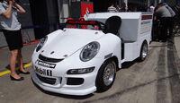 Porsche-Support - Formel 1 - GP Deutschland - 6. Juli 2013