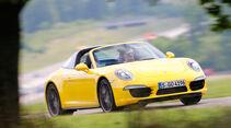 Porsche Targa 4S, Frontansicht
