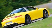 Porsche Targa 4S, Heckansicht