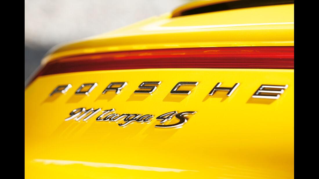 Porsche Targa 4S, Typenbezeichnung