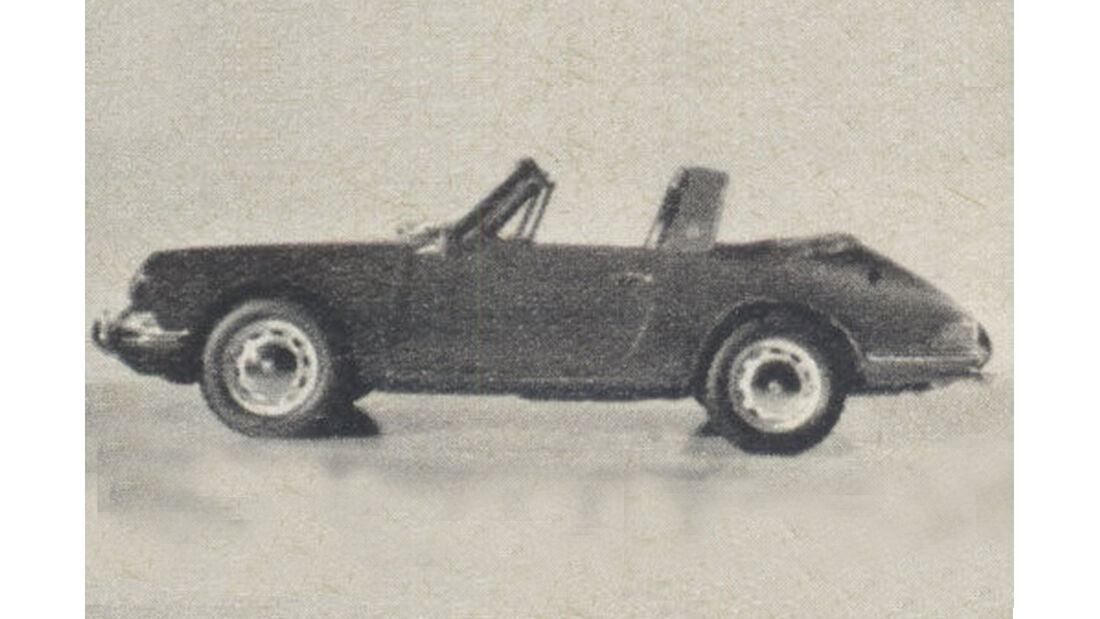 Porsche, Targa, IAA 1967