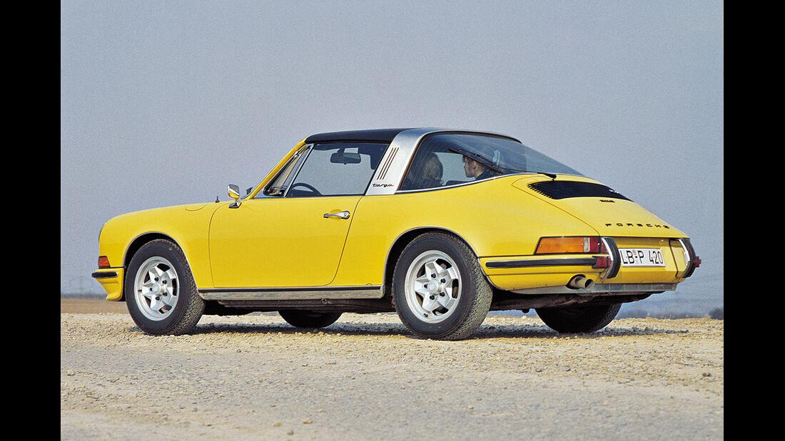 Porsche Targa, Seitenansicht