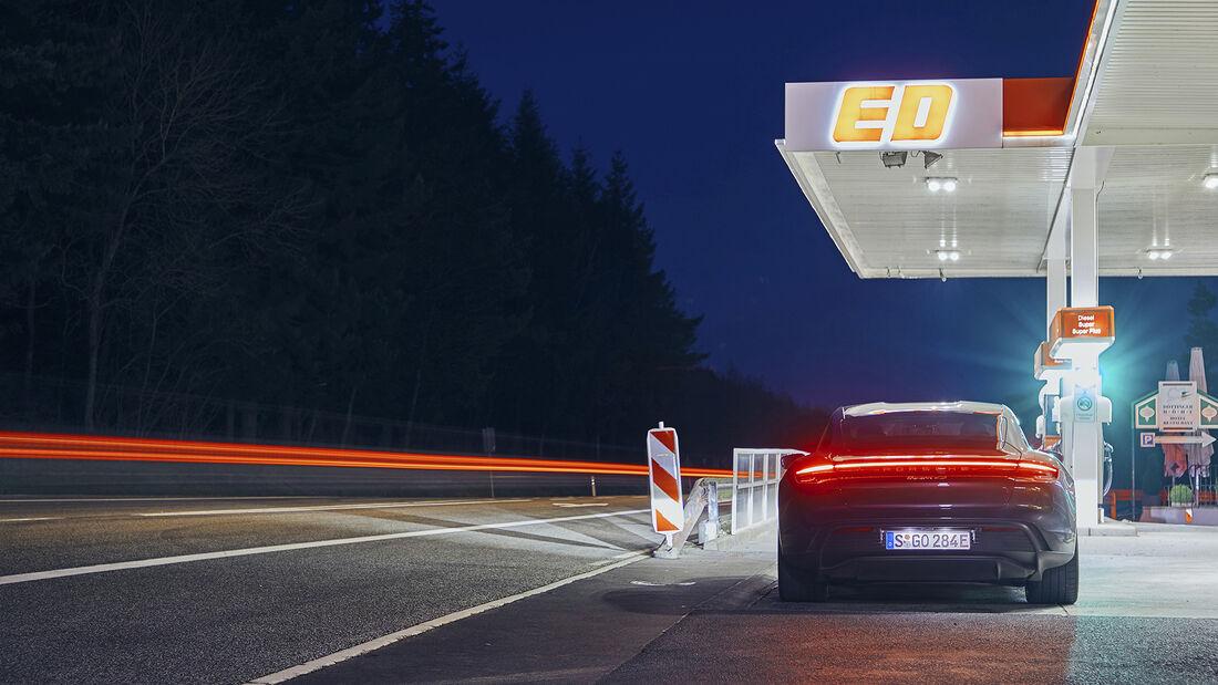 Porsche Taycan 4S, Exterieur