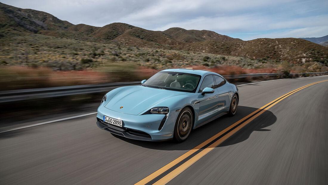 Porsche Taycan 4S Fahrbericht