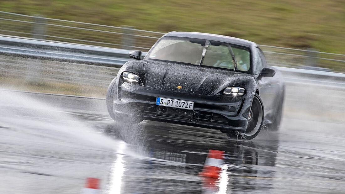 Porsche Taycan 4S, Leser Testdrive