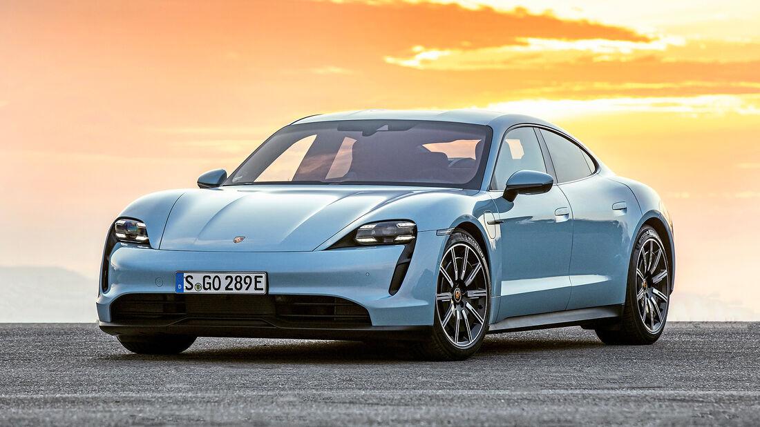 Porsche Taycan, Autonis 2020