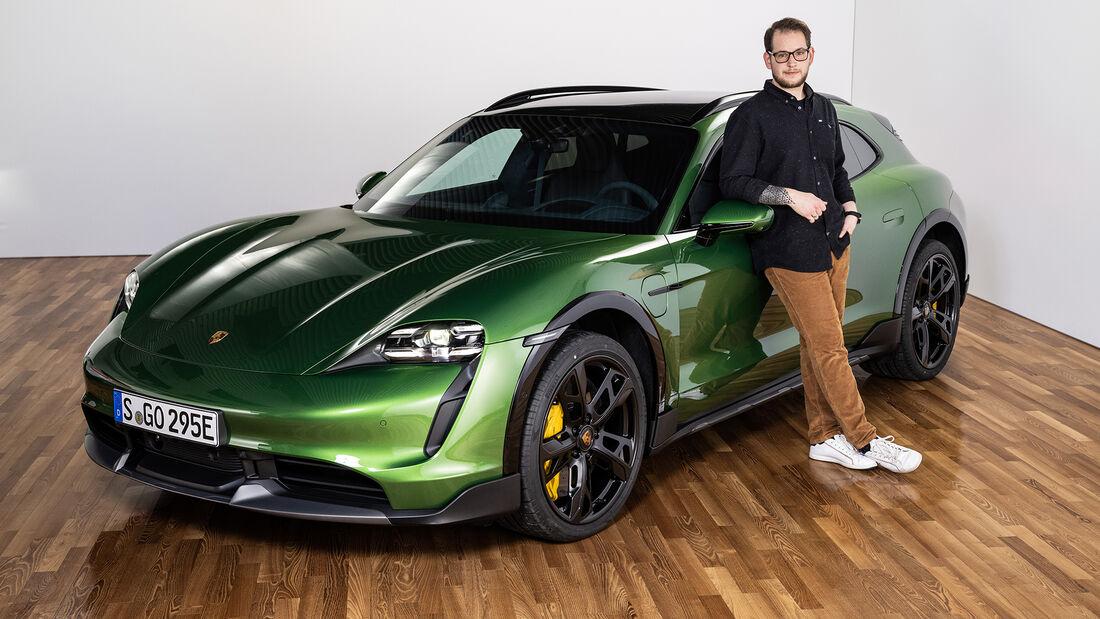 Porsche Taycan Cross Turismo Sitzprobe Erster Check Studio