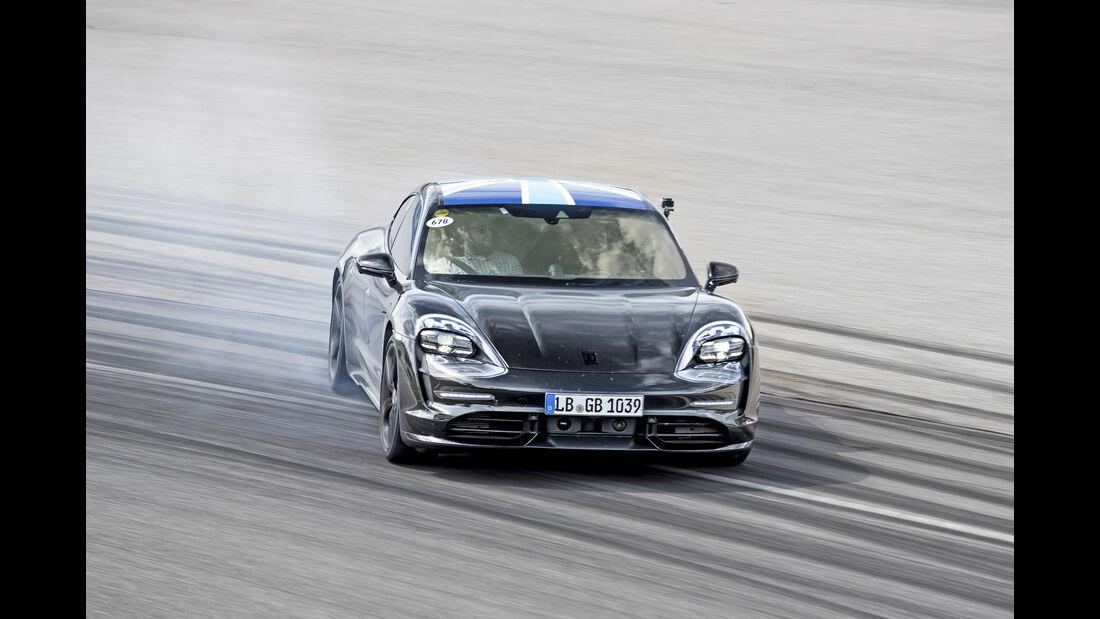 Porsche Taycan, Exterieur
