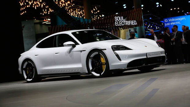 Porsche Taycan, IAA 2019
