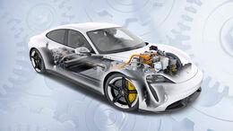 Porsche Taycan, Illustration