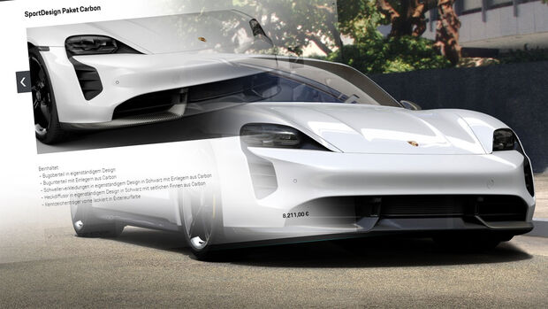 Porsche Taycan Karbon Exterieur