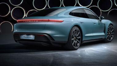 Porsche Taycan Lackierung Fertigung Produktion