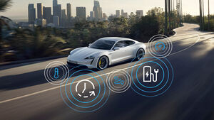 Porsche Taycan Modelljahr 2021 Modellpflege