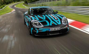 Porsche Taycan - Nürburgring-Nordschleife - Rekord