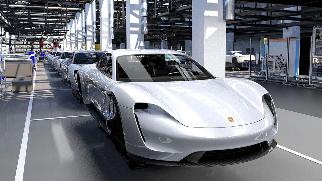 Porsche Taycan Produktion