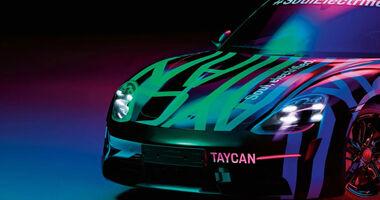 Porsche Taycan Teaser