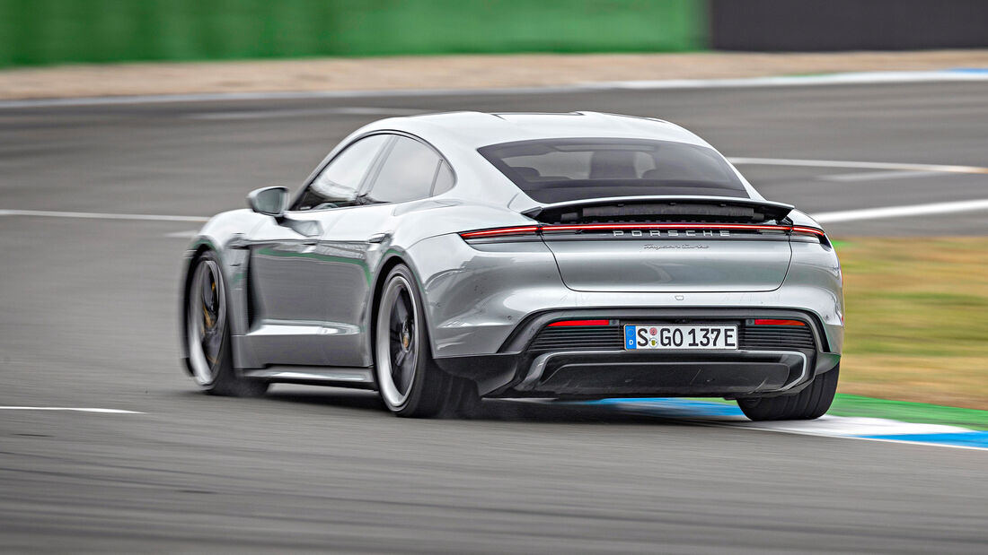 Porsche Taycan Turbo, Exterieur