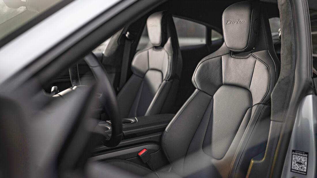 Porsche Taycan Turbo, Interieur