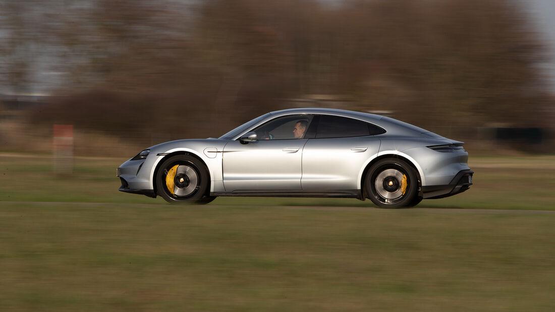 Porsche Taycan Turbo S, Exterieur