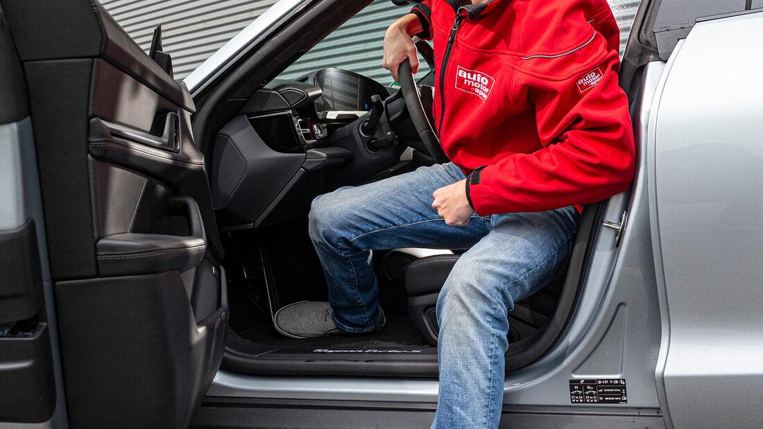 Porsche Taycan Turbo S, Interieur