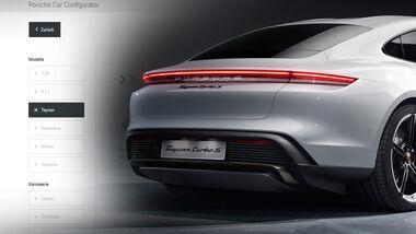 Porsche Taycan Turbo S Konfigurator Aufmacher