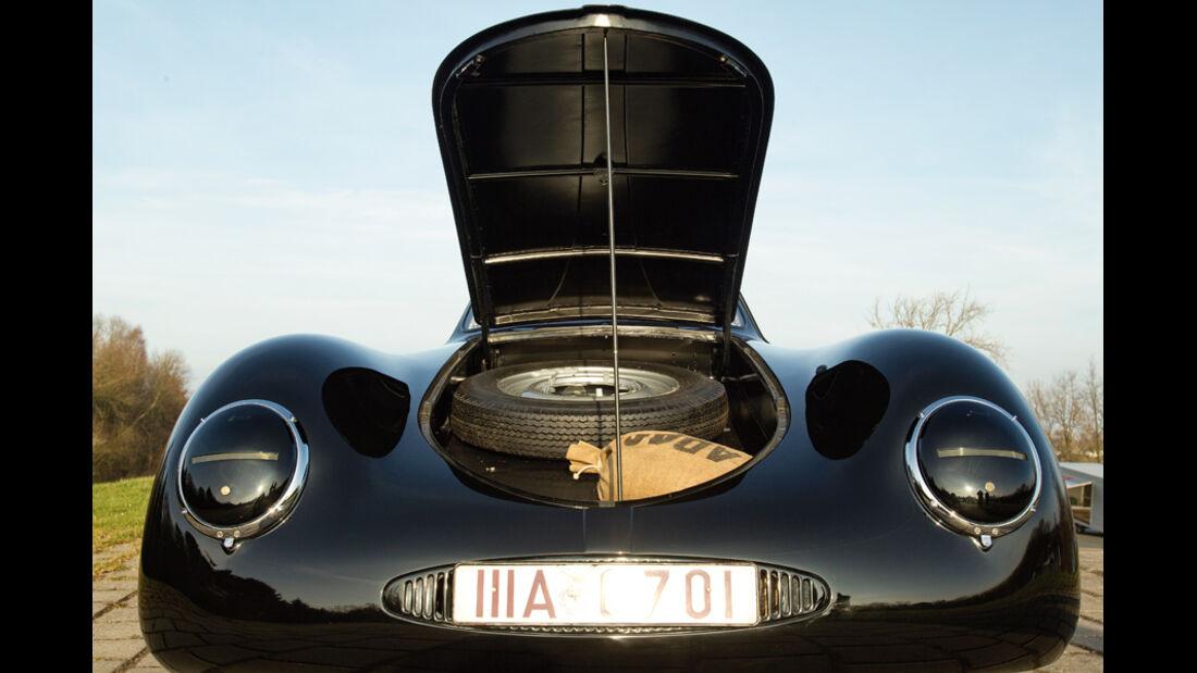 Porsche Typ 64, Kühlerhaube