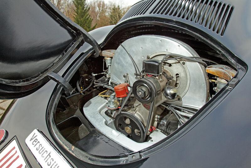 Porsche Typ 64, Motor