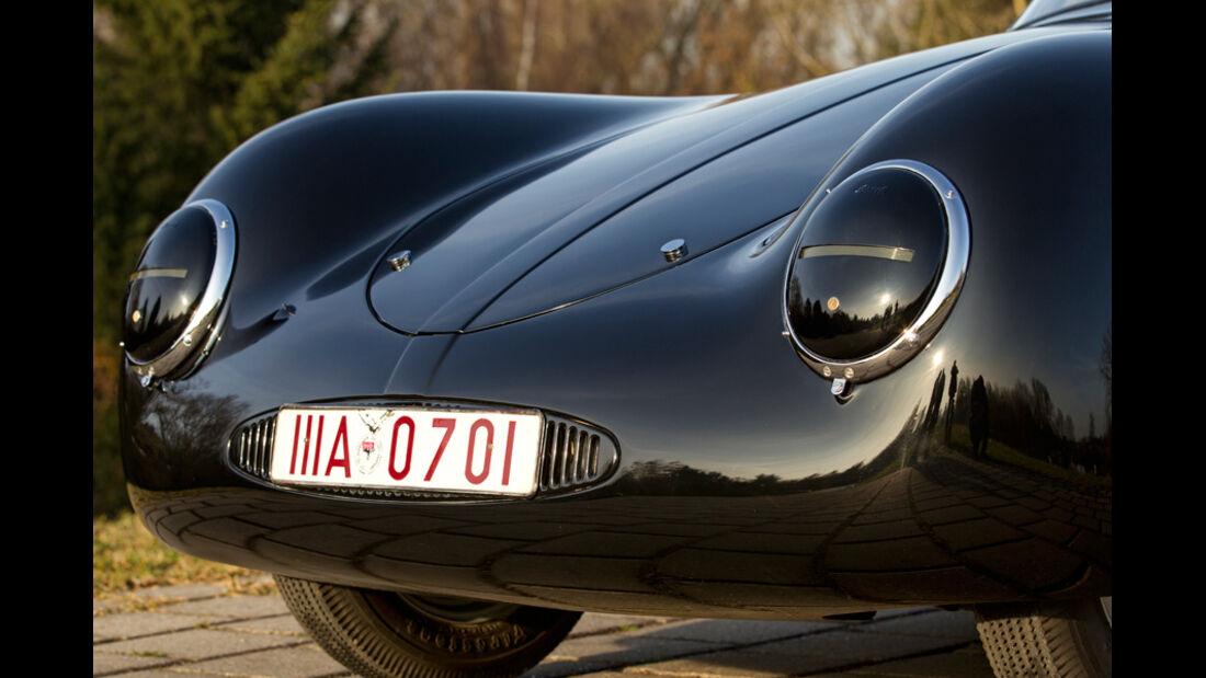Porsche Typ 64, Scheinwerfer