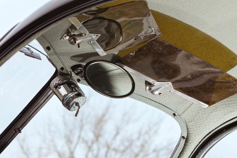 Porsche Typ 64, Sonnenblende