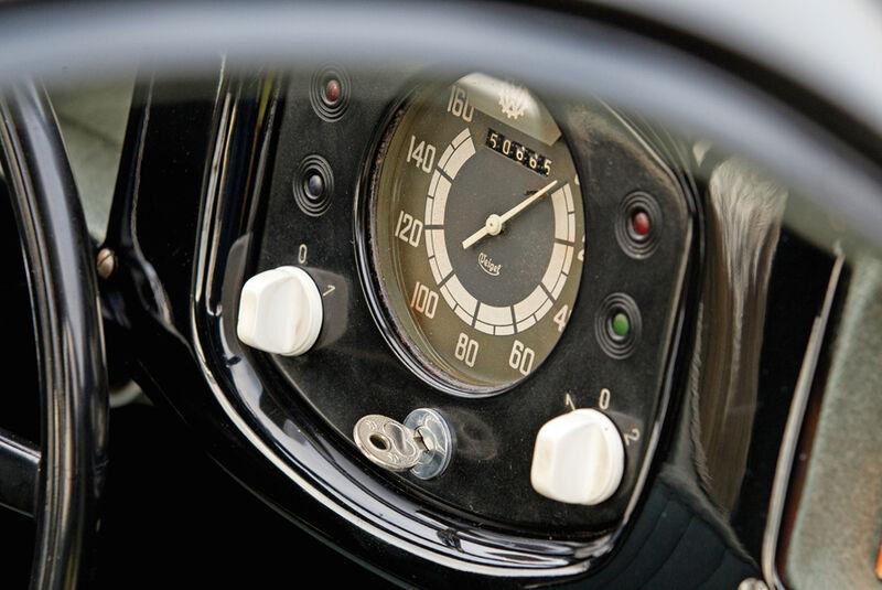 Porsche Typ 64, Tacho
