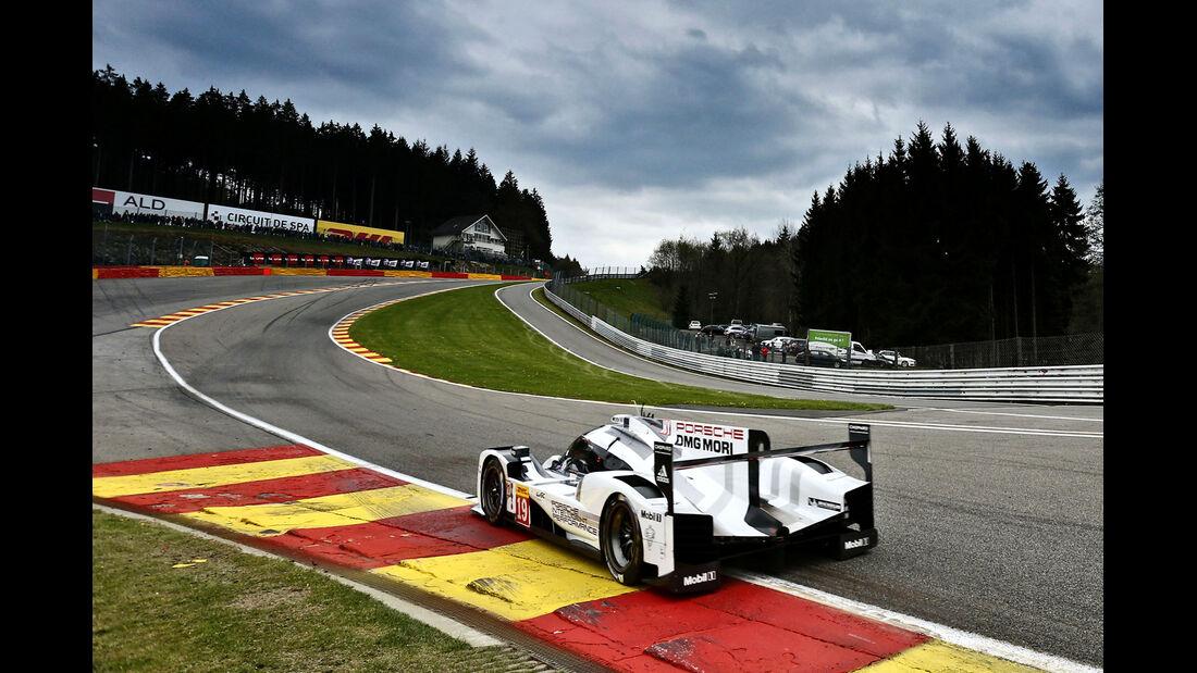 Porsche - WEC - 6h - Spa-Francorchamps - 2015