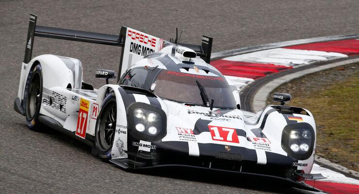 Porsche - WEC - LMP1 - Shanghai 2015