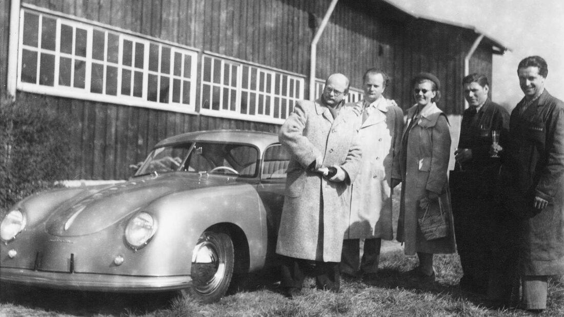 Porsche-Werksabholung 356 Ottomar Domnick 26.5.2020
