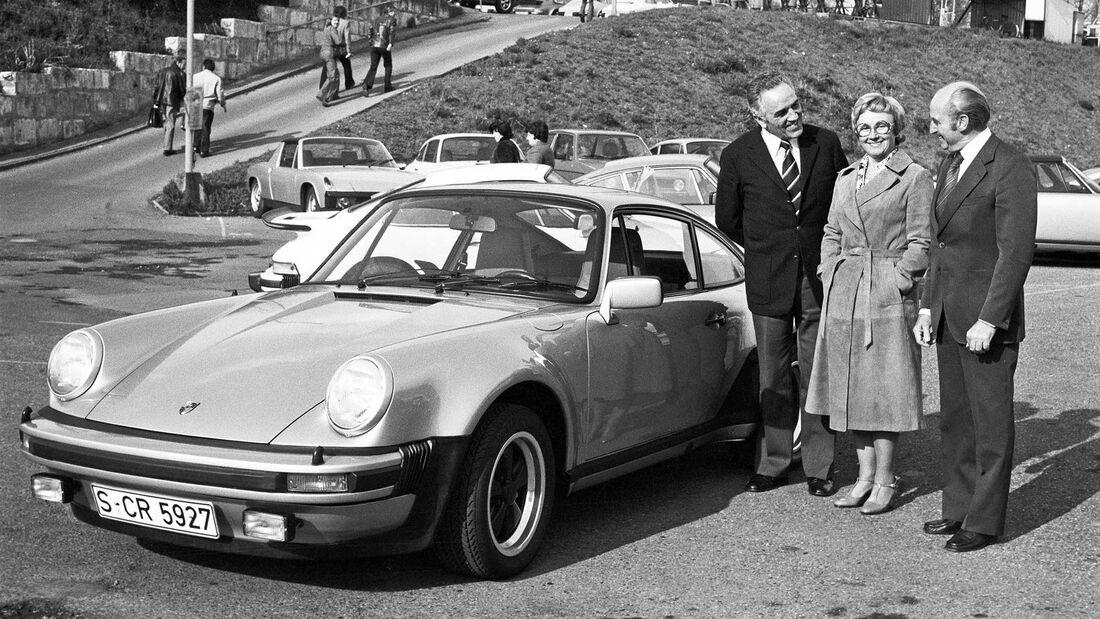 Porsche-Werksabholung Harald Wagner Pietsch 911 Turbo 1976